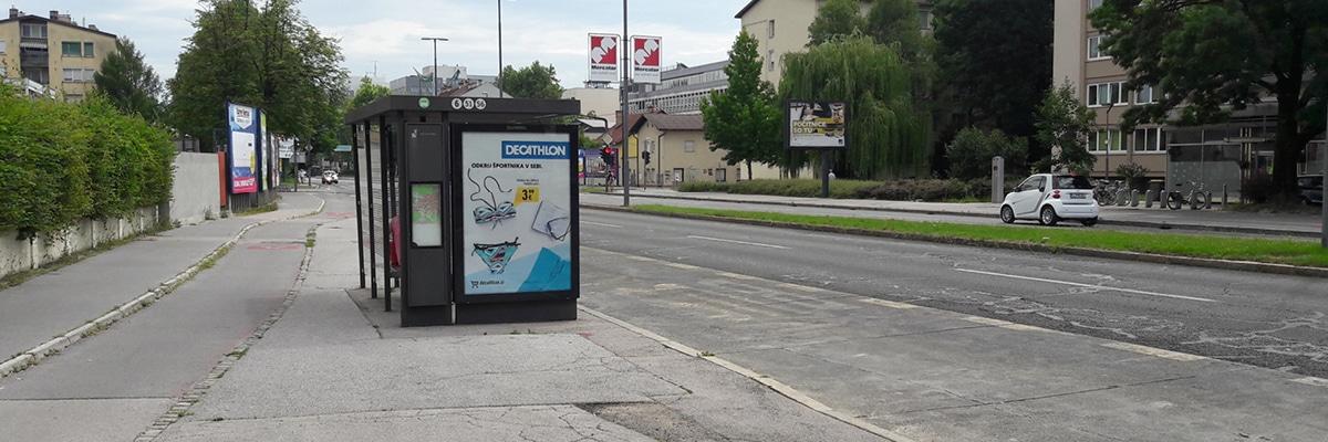 Avtobusno postajališče Zdravstveni dom Ljubljana Vič Rudnik