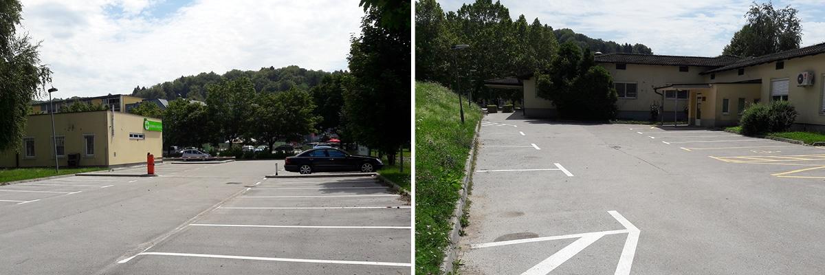 Zdravstveni dom Vič Rudnik Vič Rudnik parkiranje