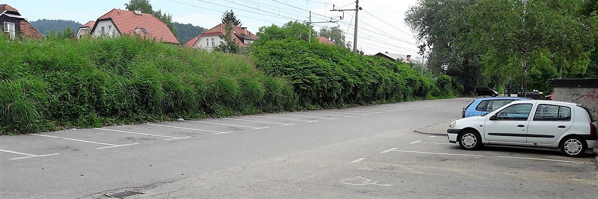 Parkirišče Zdravstveni dom Ljubljana Vič Rudnik
