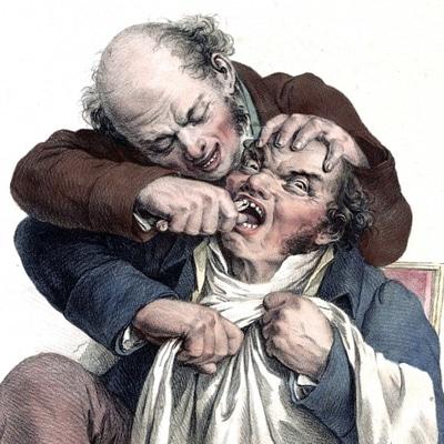 Puljenje zob pred davnimi leti