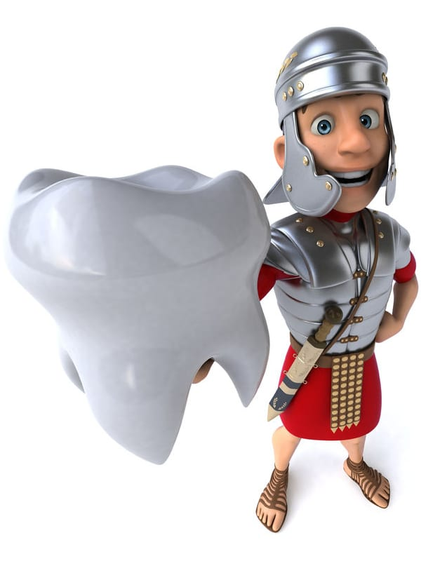 Grška medicina je začela tudi z razvojem zobozdravstva