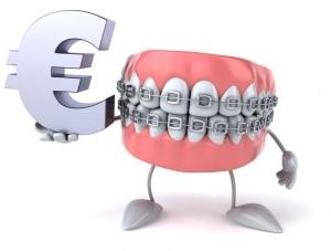 Nevidni zobni aparat je dražji od klasičnega