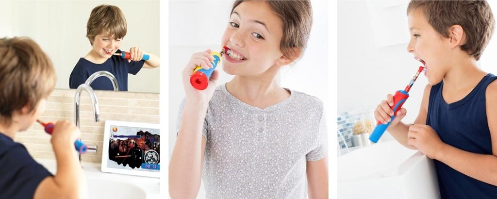 Električna ščetka je primerna tako za fantke kot punčke