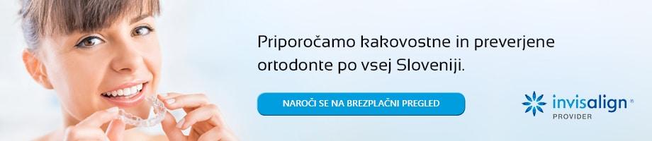 Invisalign provider v Sloveniji